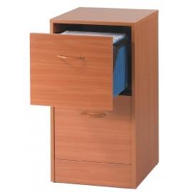 Classeur 2 tiroirs pour dossiers suspendus