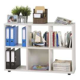 Six Cubes Shelf storage, 4 colors