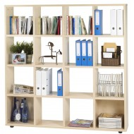 16 cubes shelf storage, 4 colors