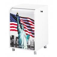 Caisson de bureau Statue de la liberté