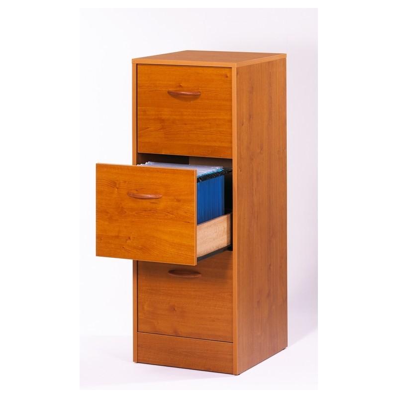 classeur 3 tiroirs bois