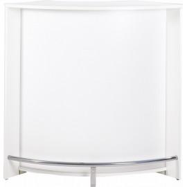Meuble bar, Comptoir de Cuisine, meuble d'Accueil. Coloris Blanc