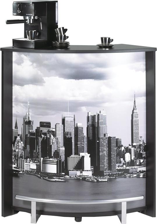 meuble comptoir bar noir imprim simmob