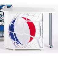 Bureau Informatique Blanc Pivotant Coupe du Monde