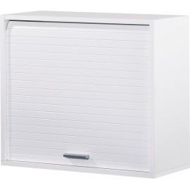 Roller-shutter kitchen cabinet White H.53.6 cm