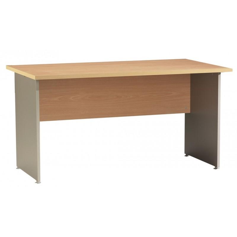 bureau winch 140 x 80 cm h tre alu simmob. Black Bedroom Furniture Sets. Home Design Ideas