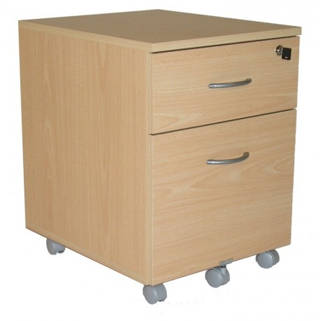 caisson de bureau roulant 2 tiroirs winch h tre simmob. Black Bedroom Furniture Sets. Home Design Ideas