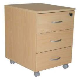 Office pedestal 3 drawers Winch Beech