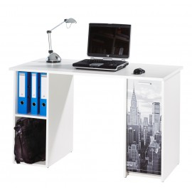 Bureau 2 Caisson Blanc New York