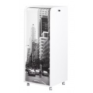 Caisson de bureau blanc New York