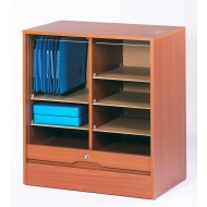 Double roll top cabinets 76 cm