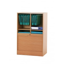Double roll top cabinets 108 cm