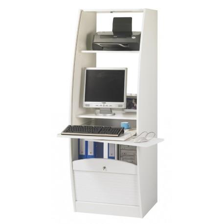 armoire informatique galbee largeur 60 cm simmob. Black Bedroom Furniture Sets. Home Design Ideas