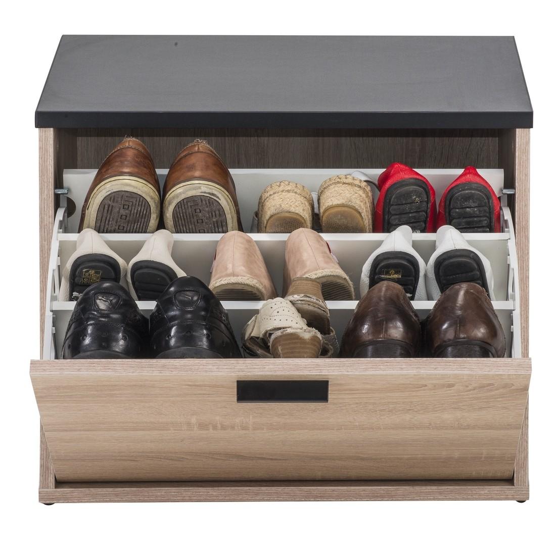 Banc Coffre à Chaussures 9 Paires Simmob