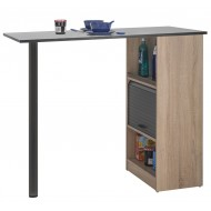 Kitchen cabinet with table top - breakfast bar Oak