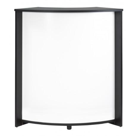 Meuble Comptoir Meuble Bar Noir 97 cm