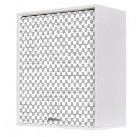 Meuble Cuisine Blanc 60x72 Face Imprimée